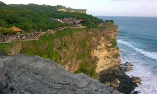 Zdjecie INDONEZJA / - / Pura Luhur Uluwatu / Balijska �wi�ty