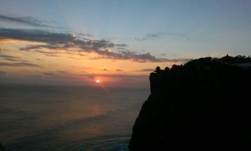 Zdjecie INDONEZJA / - / Pura Luhur Uluwatu / Balijska świątynia