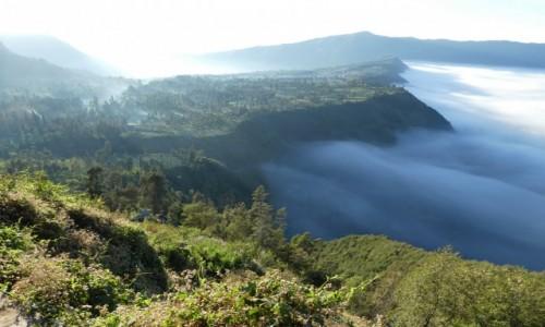 Zdjęcie INDONEZJA / JAVA /BROMO  / prawie tuż przy Bromo  / okolice Bromo