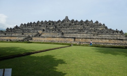 Zdjecie INDONEZJA / JAVA/okolice Yogyakarty  / BOROBUDUR /  Borobudur