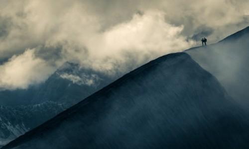 Zdjecie INDONEZJA / wschodnia Jawa / Wulkan Bromo / Trekking wśród chmur