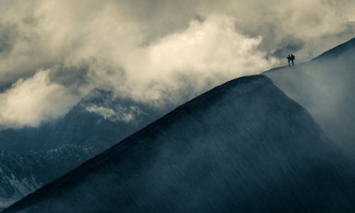 INDONEZJA / wschodnia Jawa / Wulkan Bromo / Trekking wśród chmur