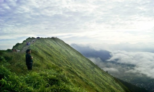 Zdjecie INDONEZJA / jawa / jawa / poranek w Indon