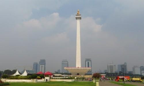 Zdjęcie INDONEZJA / Jawa / Dżakarta / Monas