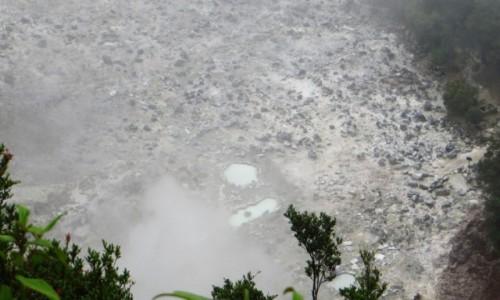 Zdjęcie INDONEZJA / Jawa / Tangkuban Perahu / krater Domas