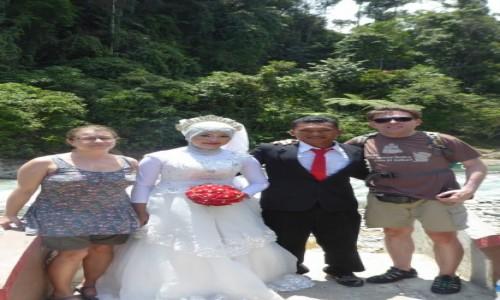 INDONEZJA / Sumatra / Bukit Lawang / Nowożeńcy w tropikach