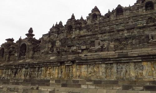 Zdjęcie INDONEZJA / Jawa / stupa Borobudur / Borobudur droga do Oświecenia