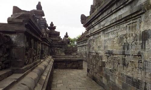 Zdjecie INDONEZJA / Jawa / stupa Borobudur / Borobudur droga do Oświecenia