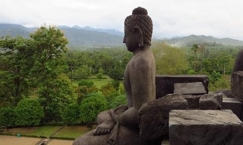 Zdjecie INDONEZJA / Jawa / stupa Borobodur / Borobudur droga do Oświecenia