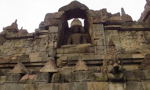 Zdjęcie INDONEZJA / Jawa / stupa Borobodur / Borobudur droga do Oświecenia
