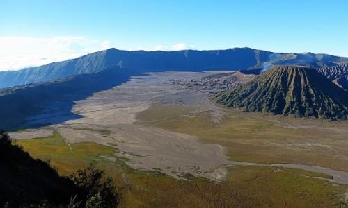 INDONEZJA / Jawa / kaldera Tengger / panorama kaldery Tengger
