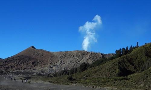 Zdjęcie INDONEZJA / Jawa / kaldera Tengger / wulkan Bromo