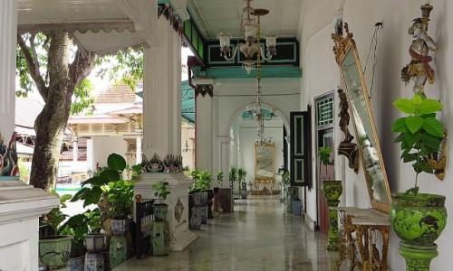 INDONEZJA / Jawa / Yogyakarta / Kraton sułtana Yogyakarty