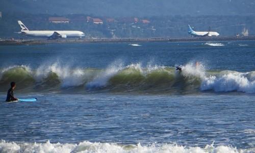 Zdjęcie INDONEZJA / Bali / Kuta / plaża