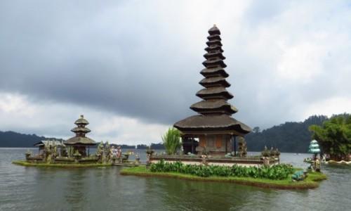 Zdjęcie INDONEZJA / Bali / jezioro Bratan / Pura Ulun Danu Bratan