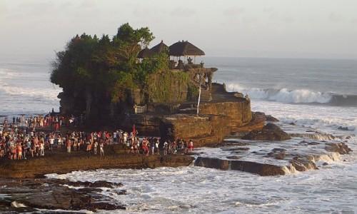 Zdjęcie INDONEZJA / Bali / wybrzeże / Pura Tanah Lot