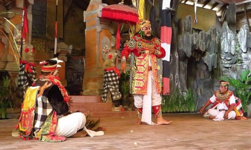 Zdjęcie INDONEZJA / Bali / okolice Ubud / Taniec Barong