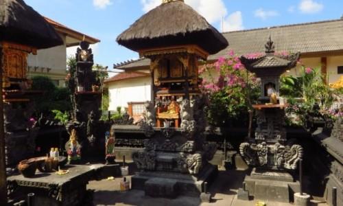 Zdjecie INDONEZJA / Bali / Kuta / świątynia hotelu Wina w Kucie