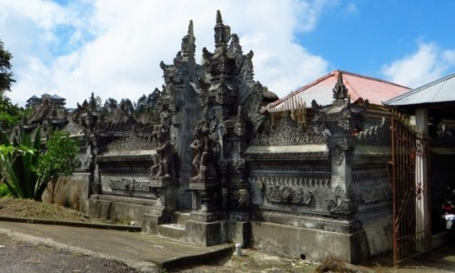 Zdjecie INDONEZJA / Bali / gdzieś na wyspie / brama