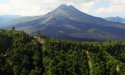 INDONEZJA / Bali / gdzieś na wyspie / wulkan Batur