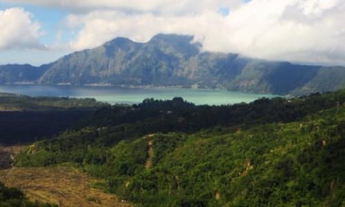 Zdjecie INDONEZJA / Bali / wulkan Batur / wulkaniczne jezioro
