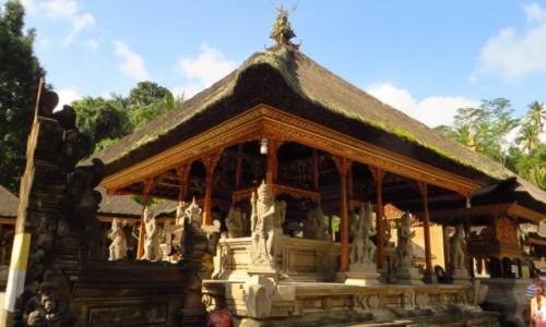 Zdjęcie INDONEZJA / Bali / wulkan Batur / Pura Tirta Empul