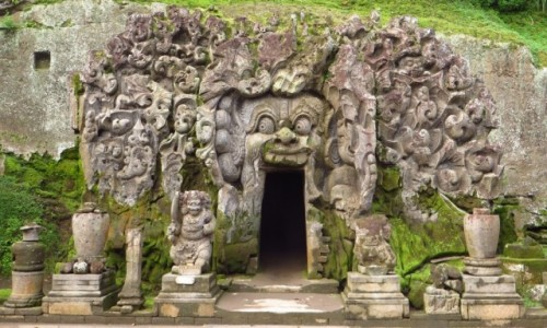 Zdjęcie INDONEZJA / Bali / gdzieś na wyspie / Jaskinia Słonia