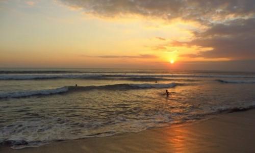 Zdjecie INDONEZJA / Bali / Kuta / zachód Słońca
