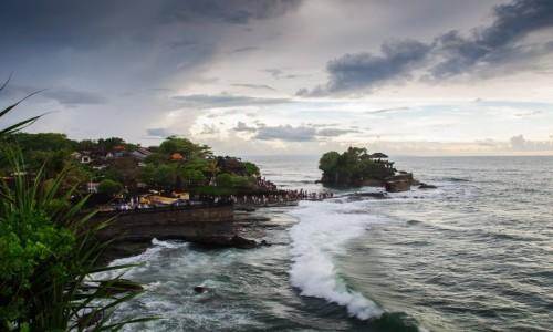 Zdjecie INDONEZJA / Wyspa Bali / Tabanan / Świątynia Tanah Lot