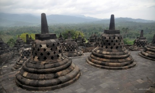 Zdjecie INDONEZJA / Jawa / Borobudur / Borobudur