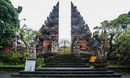 Zdjecie INDONEZJA / Bali /  Ubud / Balijska brama