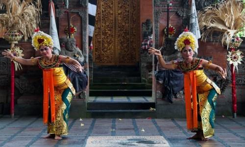 Zdjecie INDONEZJA / Bali / Gianyar / Taniec Baronga.