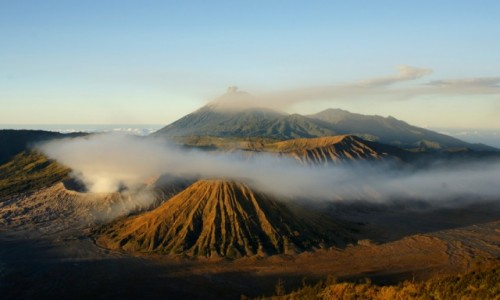 Zdjęcie INDONEZJA / Jawa / Wulkan Boromo / Bromo