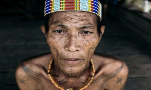 Zdjecie INDONEZJA / Sumatra / Siberut / Mentawai Shaman