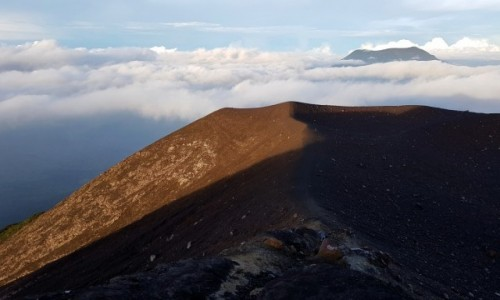 Zdjecie INDONEZJA / Sumatra Zachodnia / Gunung Marapi / Wulkan Marapi