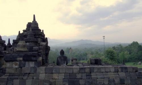 Zdjecie INDONEZJA / Jawa / Borobudur / Zapomnieć się