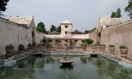 Zdjecie INDONEZJA / Jawa / Yogyakarta / Water Castle