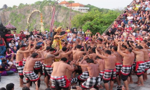 Zdjecie INDONEZJA / Bali / Uluwatu Tempel / Kecak dance