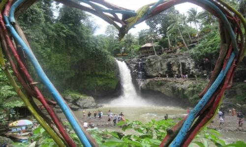 Zdjecie INDONEZJA / Ubud / Taganungan Waterfall / Walentynkowy Wodospad