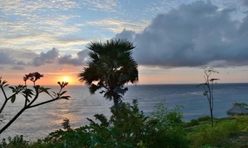 Zdjecie INDONEZJA / wyspa Bali / wioska Amed / Zachód słońca
