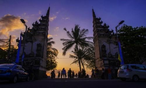 Zdjęcie INDONEZJA / Bali / Kuta / Brama