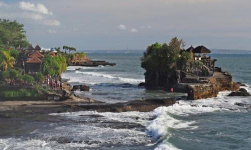 Zdjecie INDONEZJA / Bali / Beraban / Pura Tanah Lot (II)