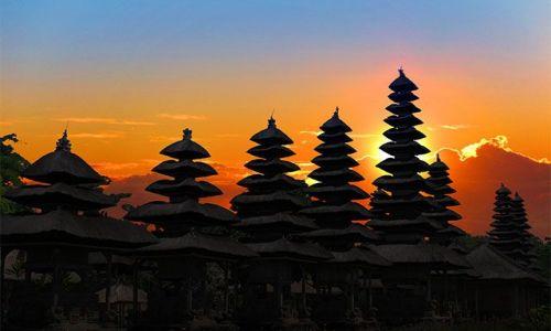 Zdjecie INDONEZJA / jawa / surabaya / zachod slonca