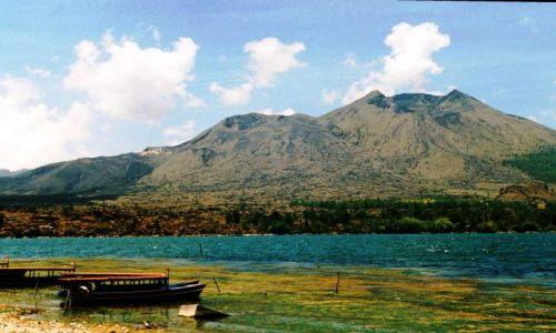 Zdjęcie INDONEZJA / płn Bali / nad jeziorem / jezioro Batur