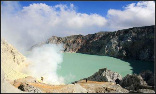 Zdjęcie INDONEZJA / Jawa / Ijen  / znowu niebo?