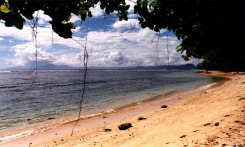 Zdjecie INDONEZJA / West Papua / Jaja Pura / Jaja Pura beach