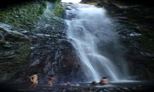 Zdjecie INDONEZJA / bali / bali / waterfall