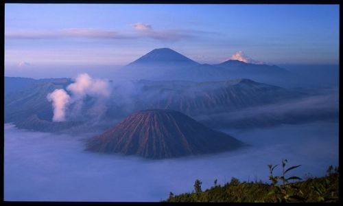 Zdjecie INDONEZJA / Jawa Timur / Mt bromo NP / Indonezja 11