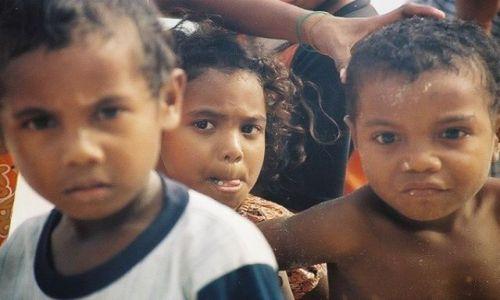 INDONEZJA / West Papua / Biak Regency / Dzieci