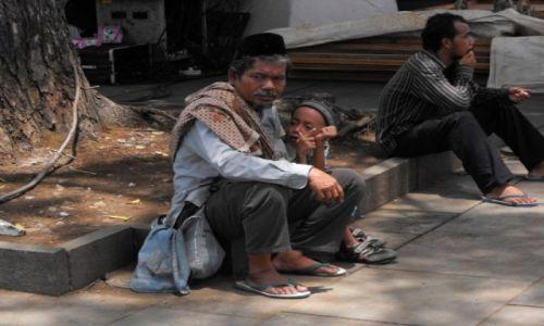 Zdjęcie INDONEZJA / Jakarta / chinatown / rodzinka
